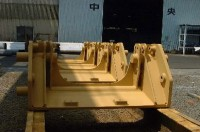 Machine frame for Komatsu Works